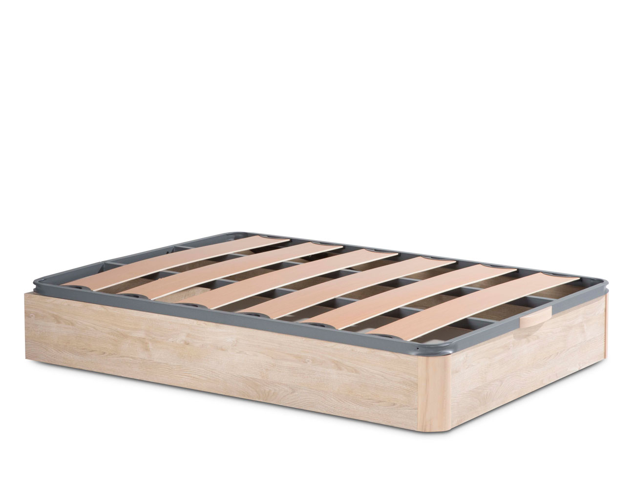 Canape madera somier laminas pvc 7814