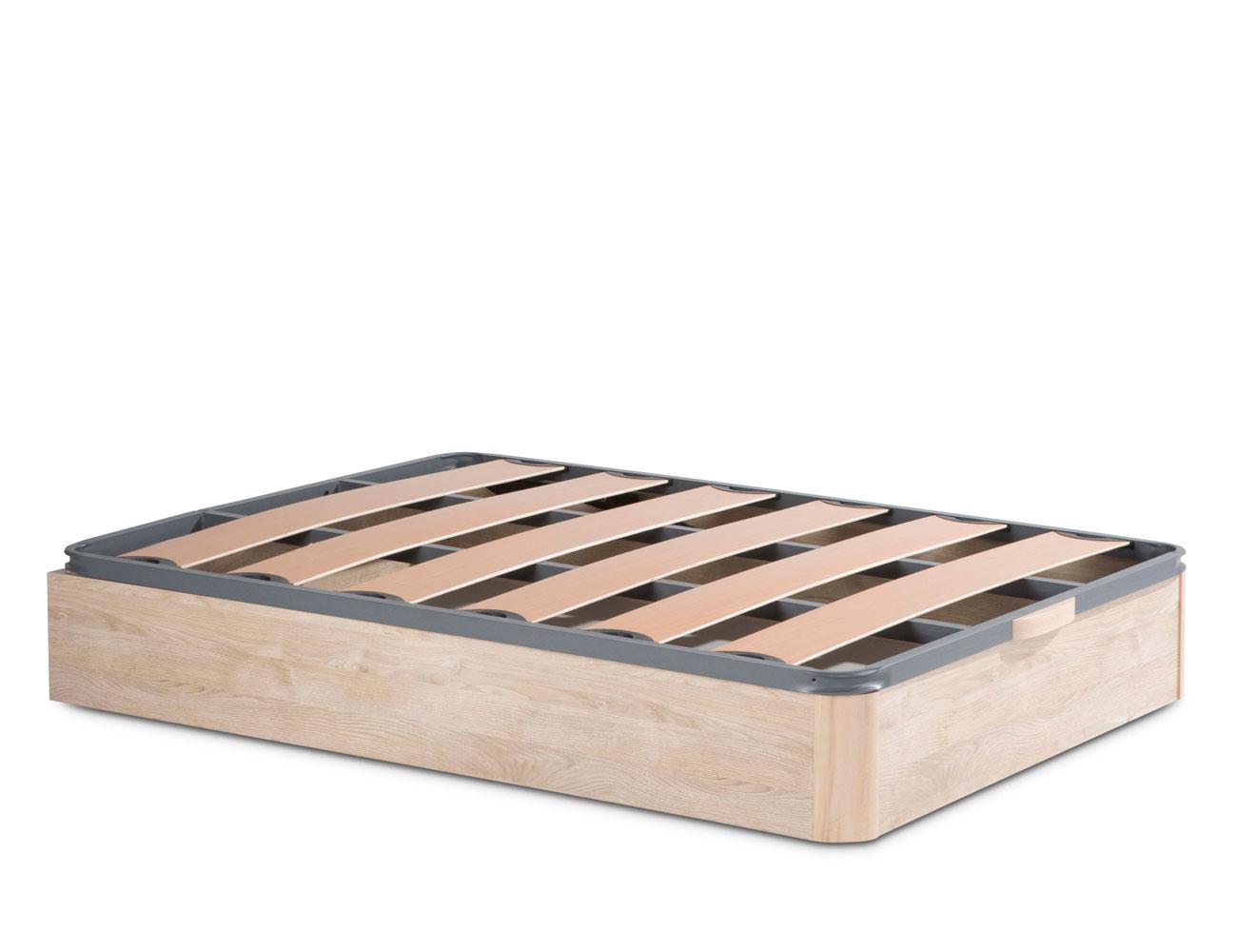 Canape madera somier laminas pvc 7819