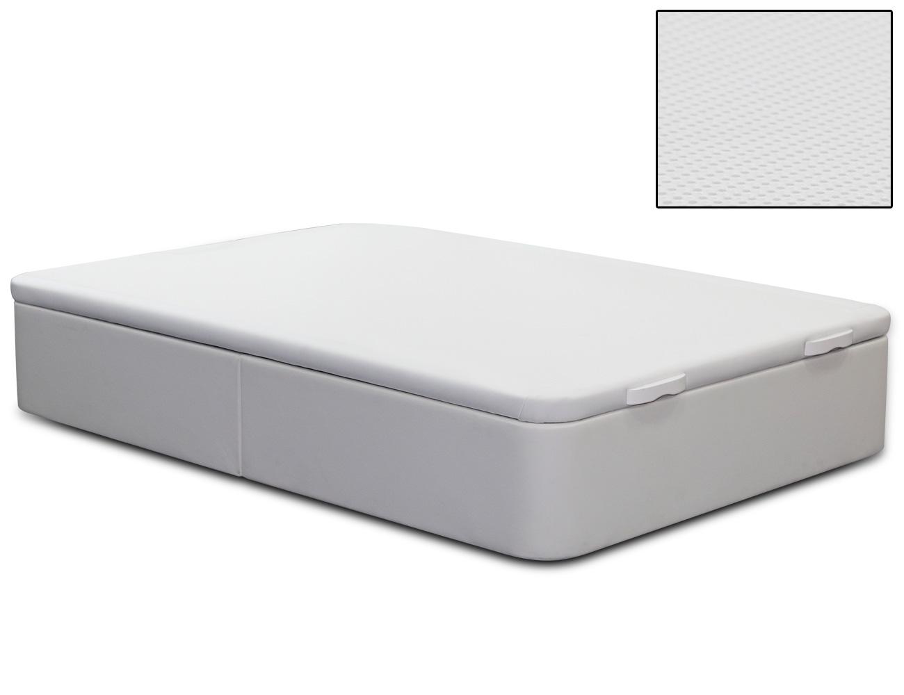Canape polipiel blanco hercules tapa 3d