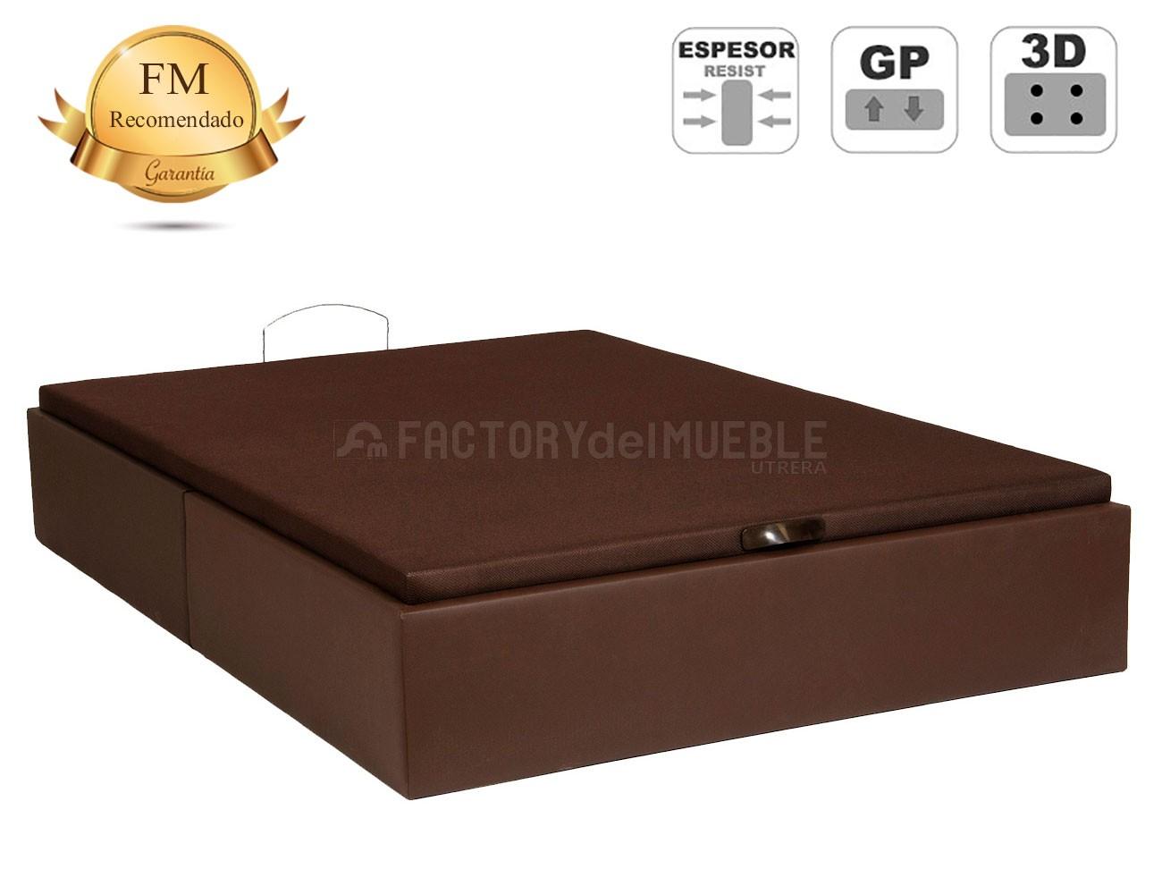 Canape polipiel chocolate recto