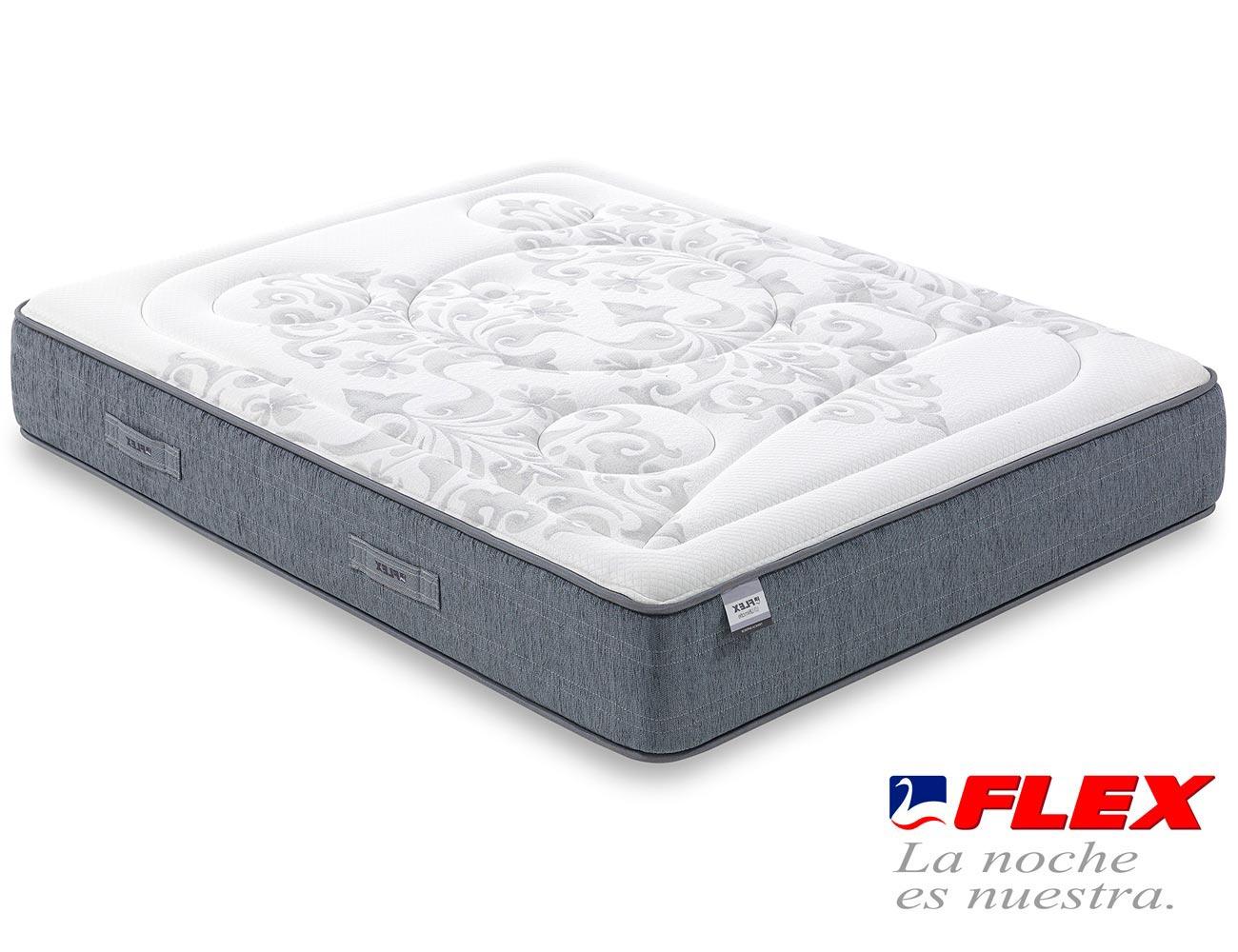 Colchon flex airvex viscoelastica gel 6 superior