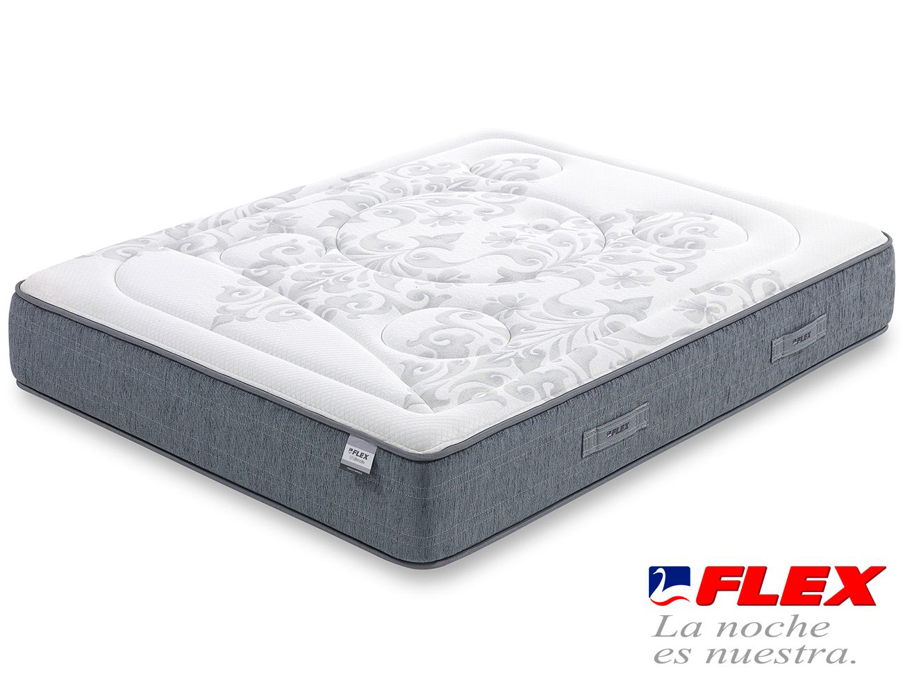 Colchon flex airvex viscoelastica gel garbi superior