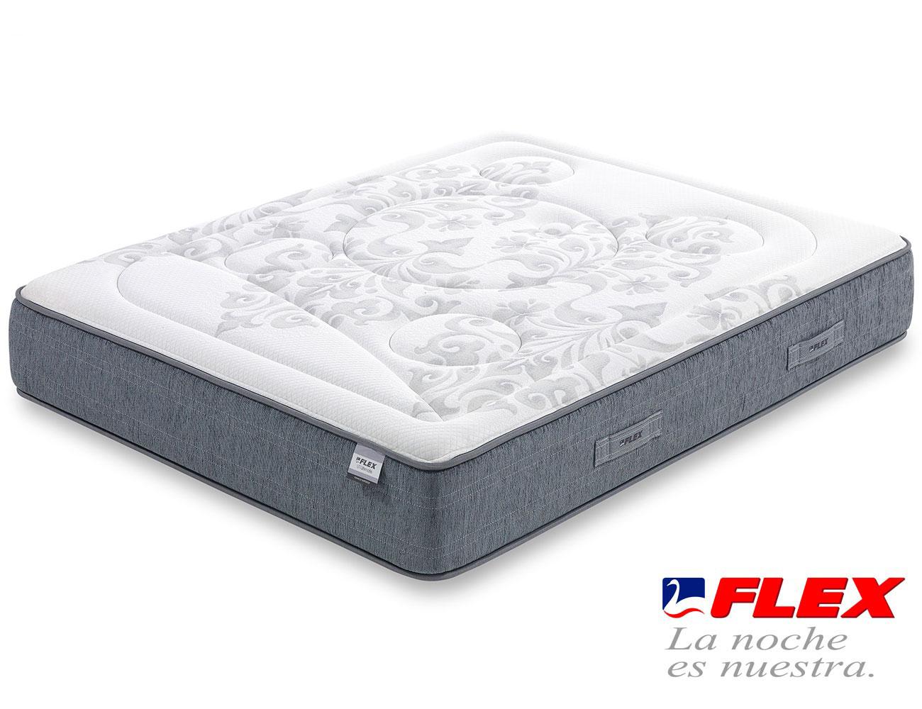 Colchon flex airvex viscoelastica gel garbi superior10