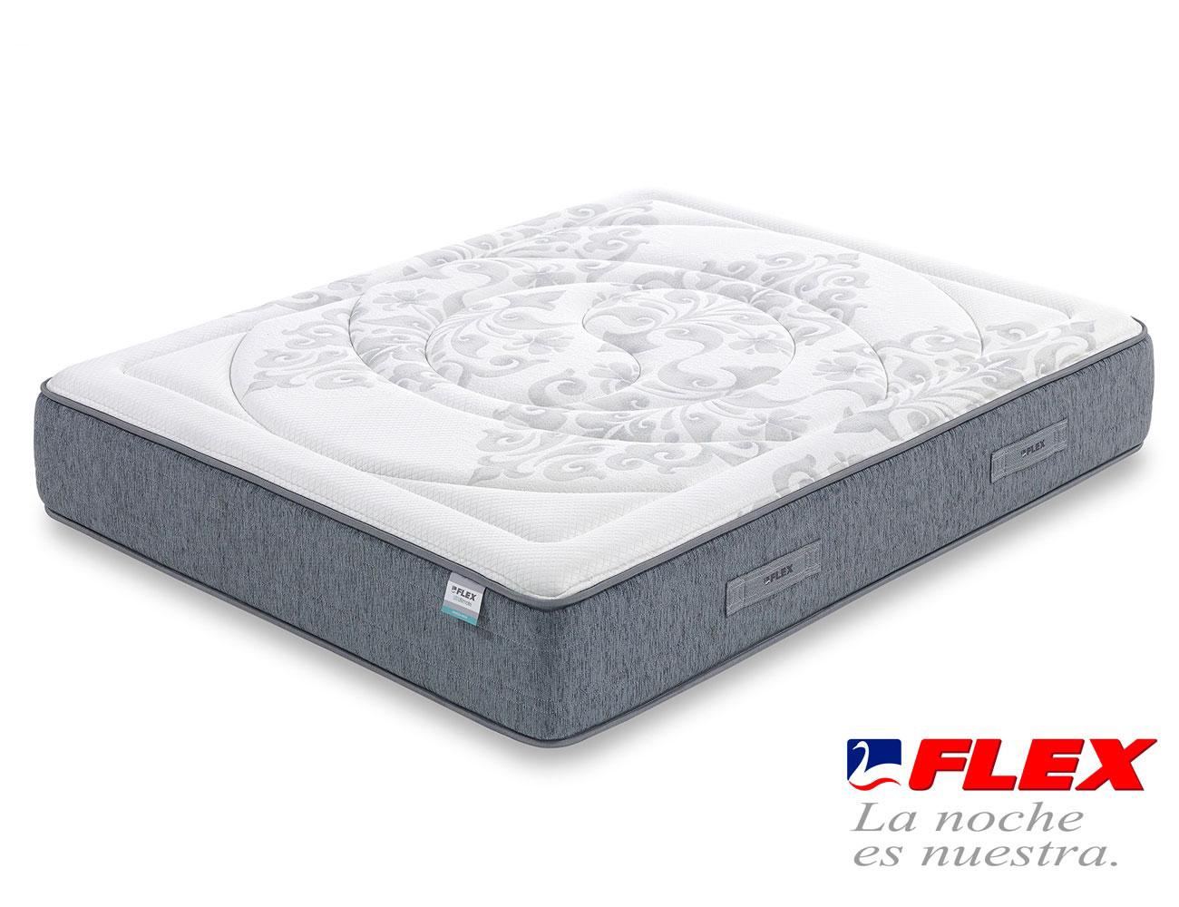 Colchon flex airvex viscoelastica gel garbi