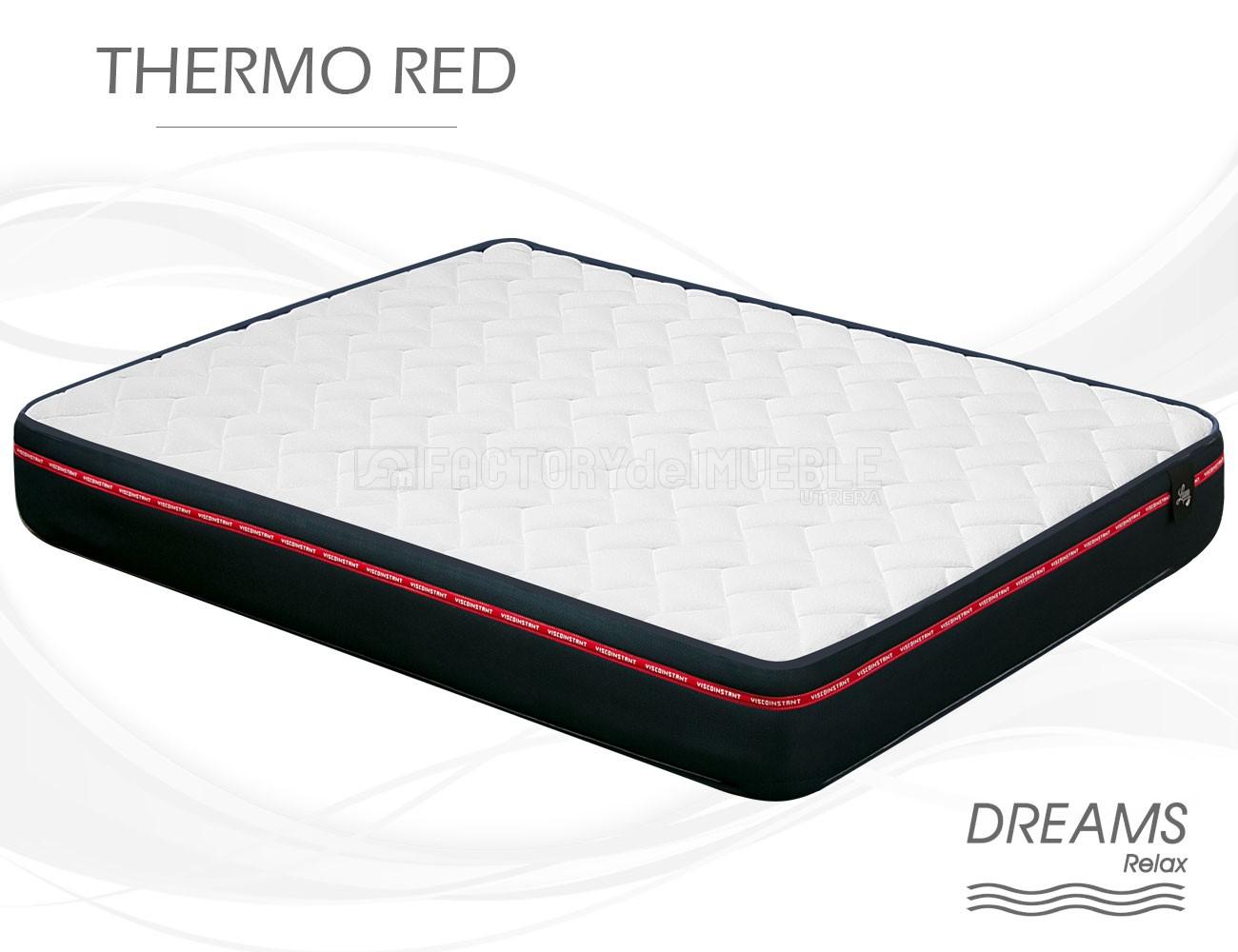 Colchón Thermo Red de Dreams Relax