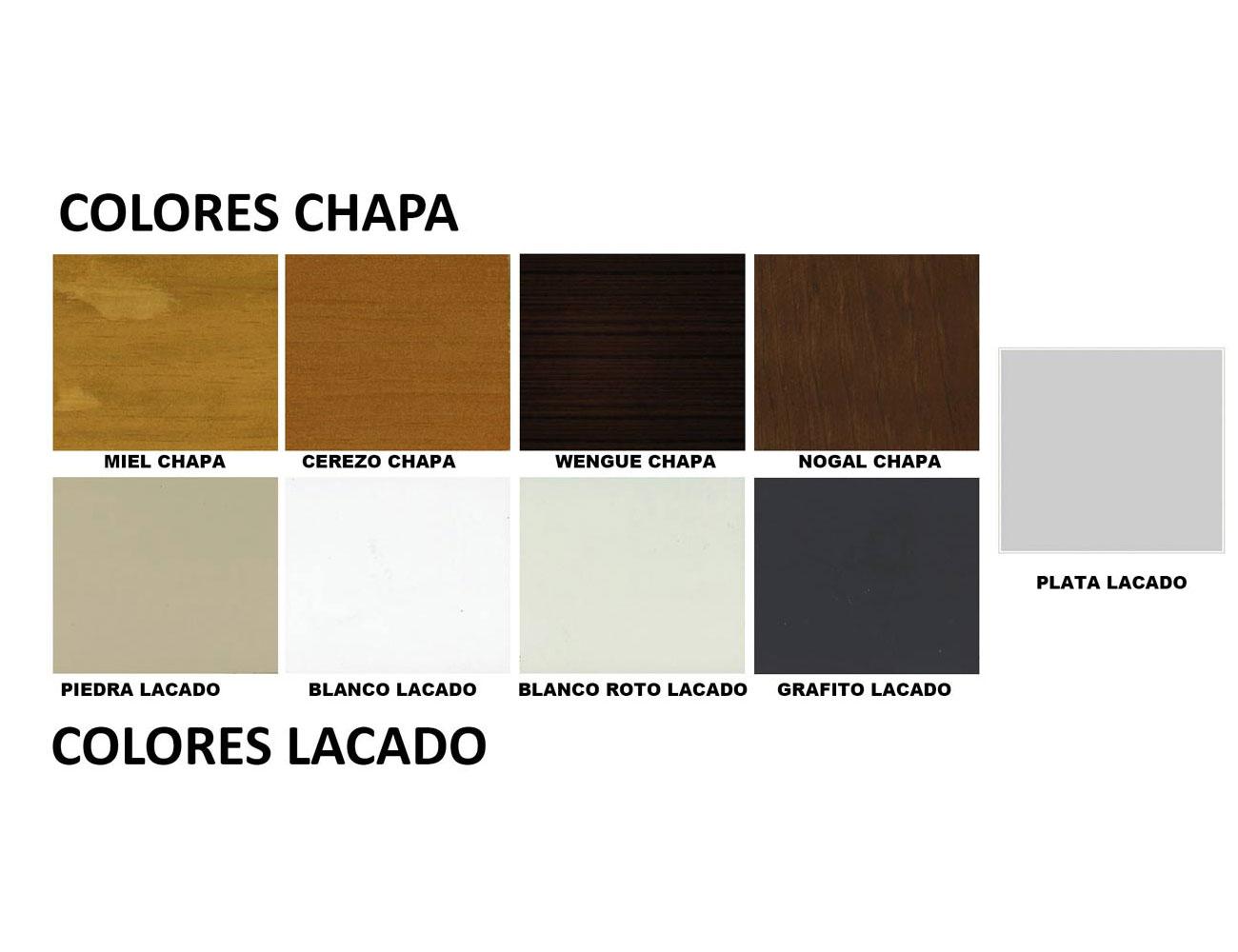 Colores muebles