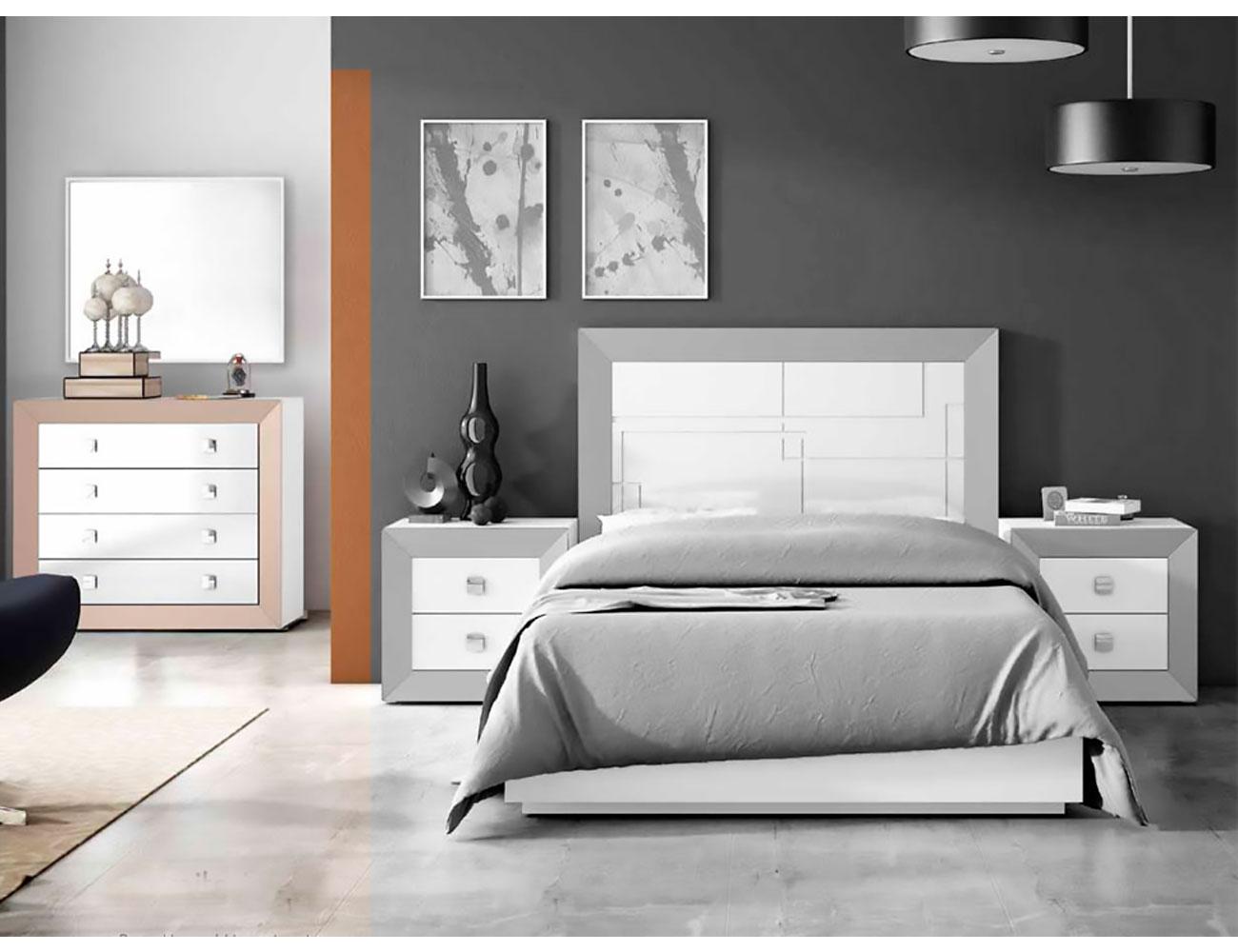 Comoda 4 cajones lacado dormitorio 051