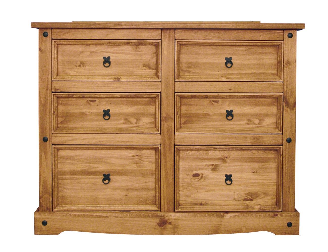 Comoda madera rustika