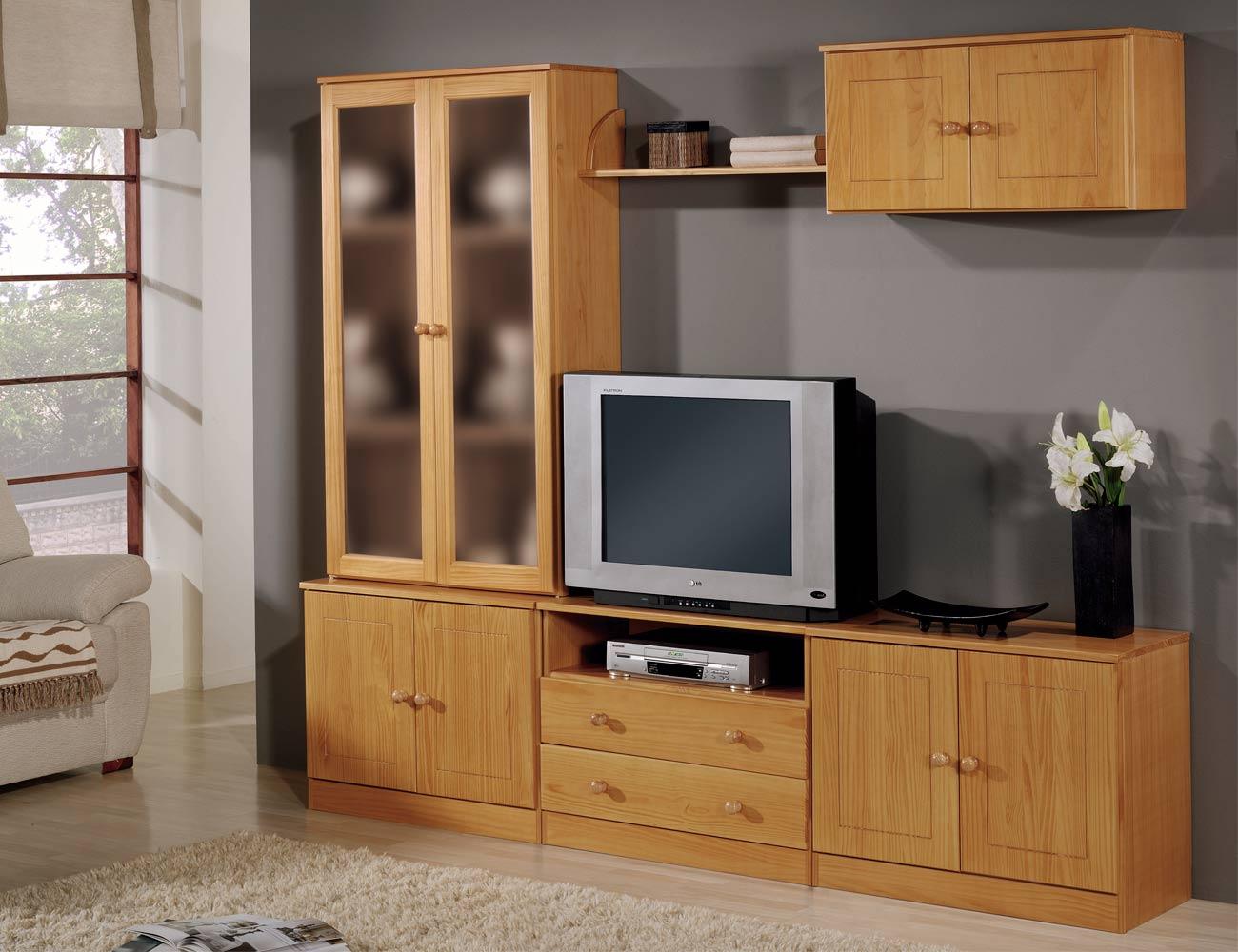 Composicion apilable 1 muebles provenzal madera pino