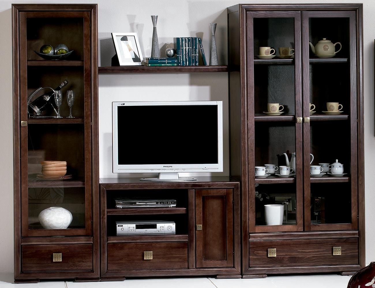 Composicion15 mueble salon comedor vitrina