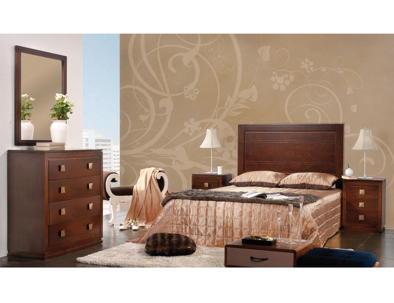 Composicion41 dormitorio matrimonio comoda