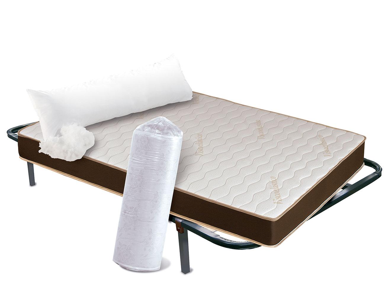 Conjunto colchon viscolastica somier almohada1
