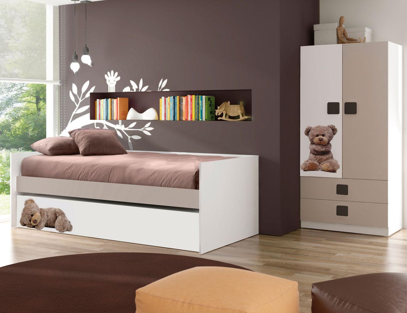Dormitorio juvenil osito
