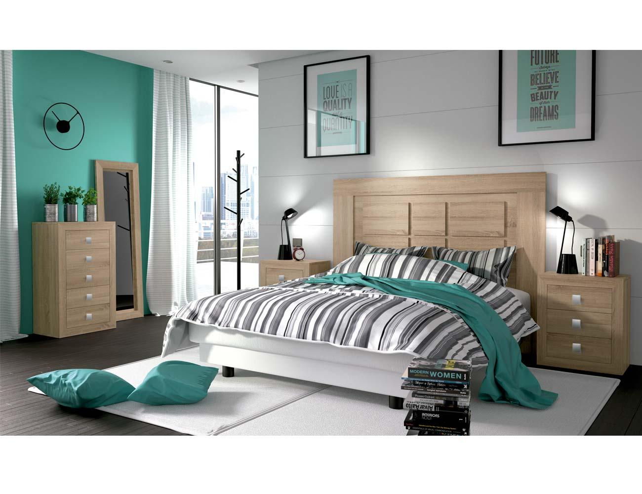 Dormitorios De Matrimonio Estilo Rustico : Dormitorio de matrimonio estilo rústico urbano color