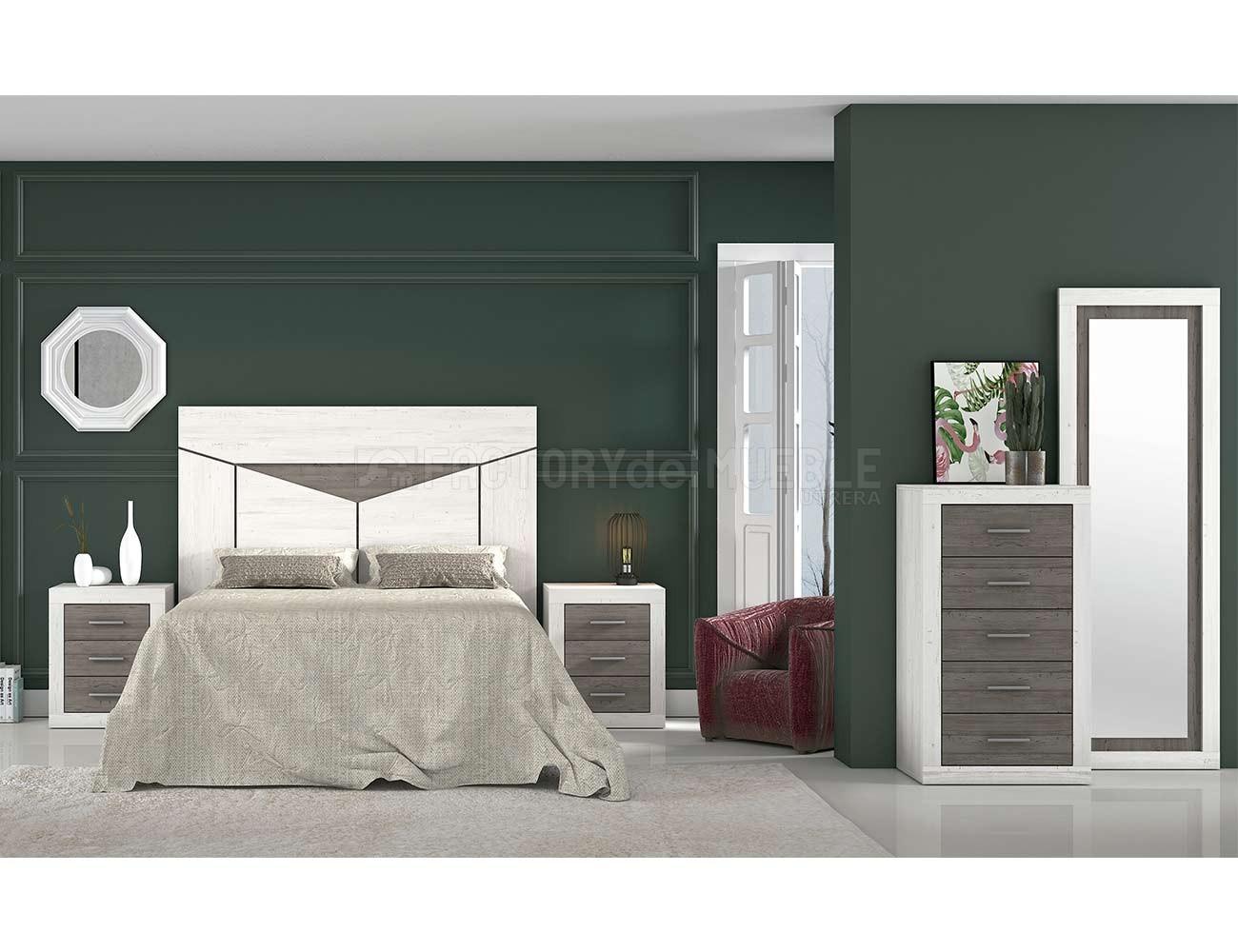 Dormitorio matrimonio moderno 401