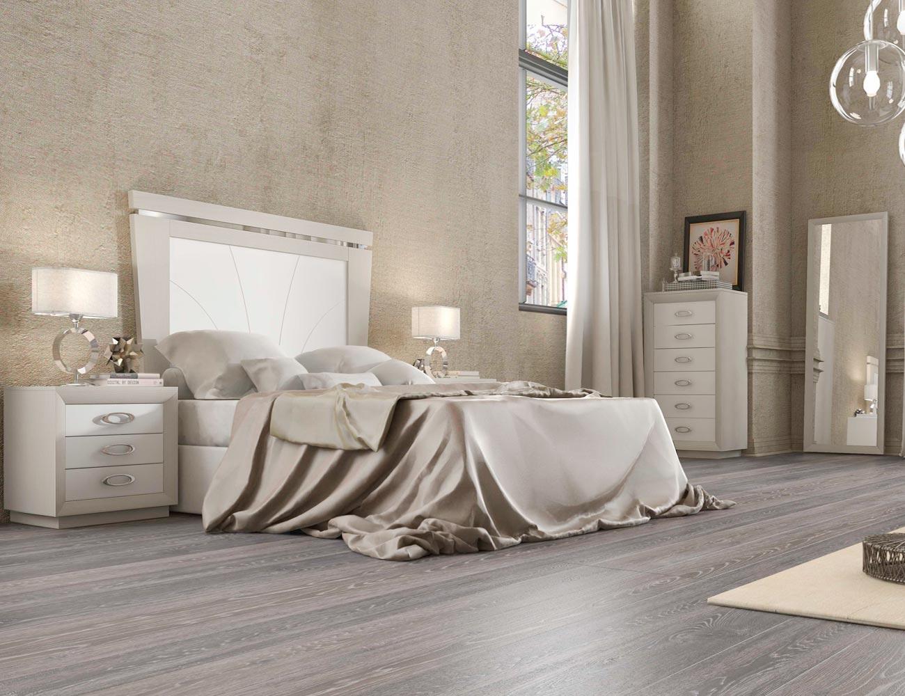 Dormitorio matrimonio neoclasico 3