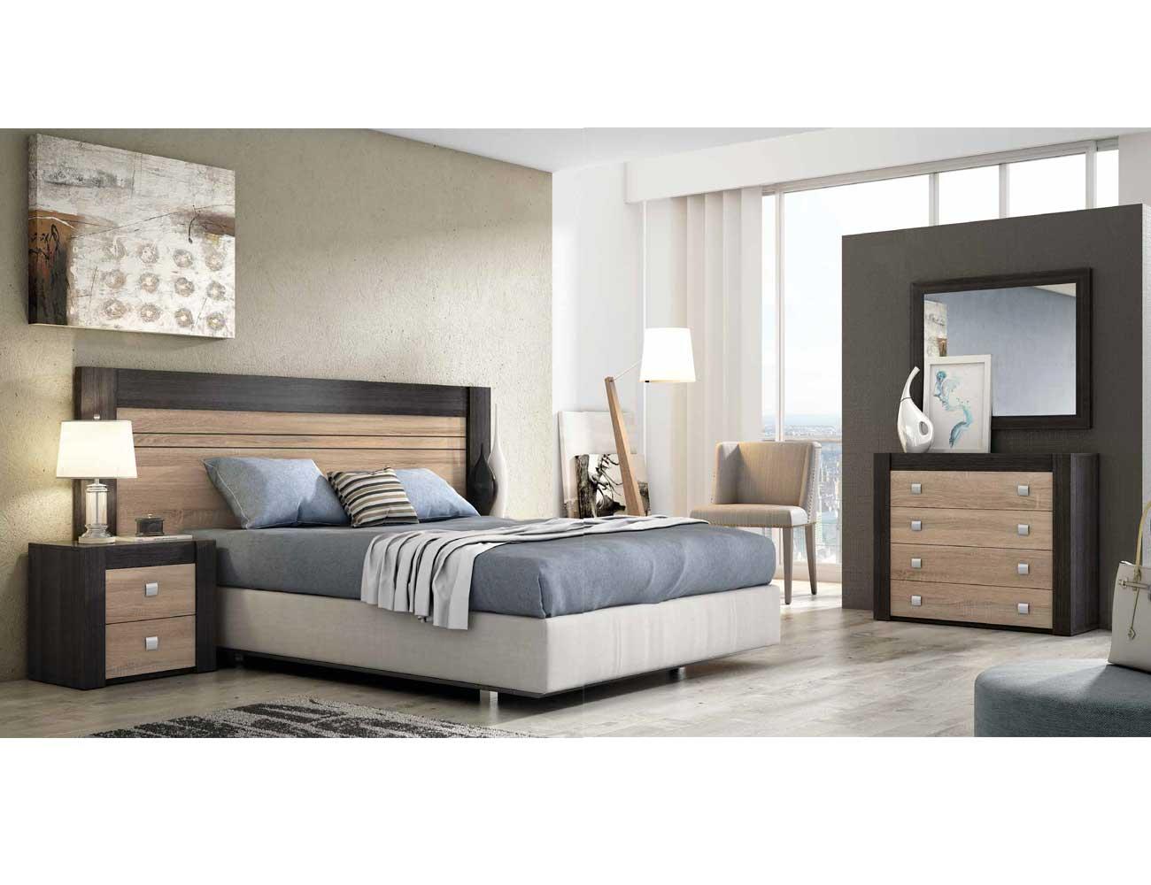 Dormitorio moderno ceniza cambrian 03