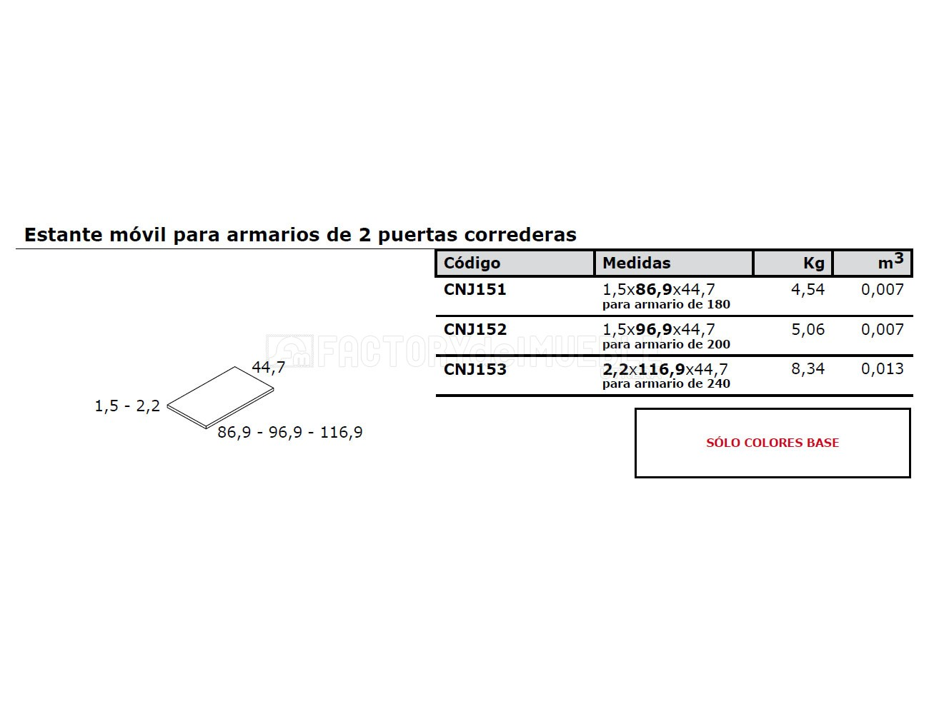Estante cnj151 152 1532