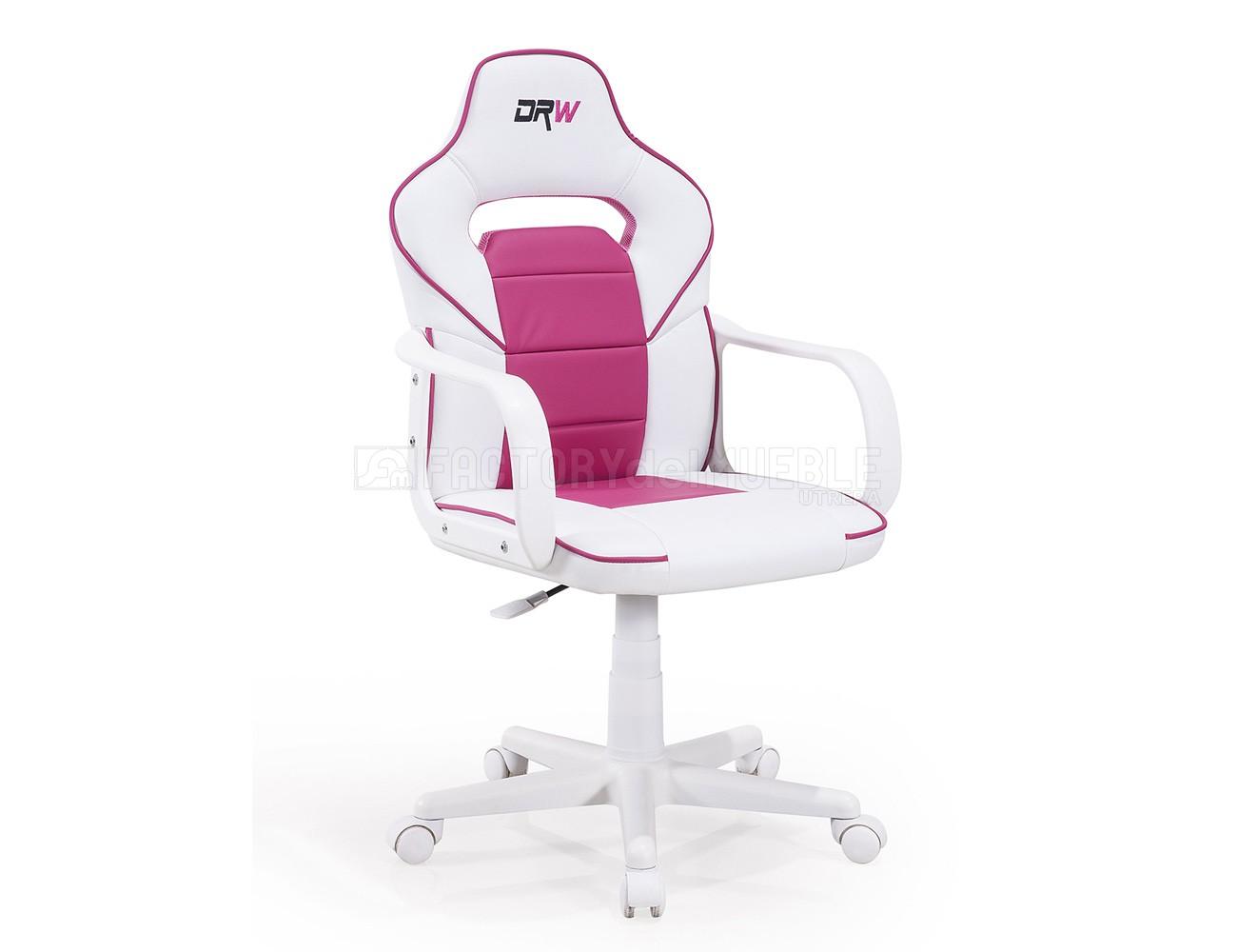 Gamer blanco rosa