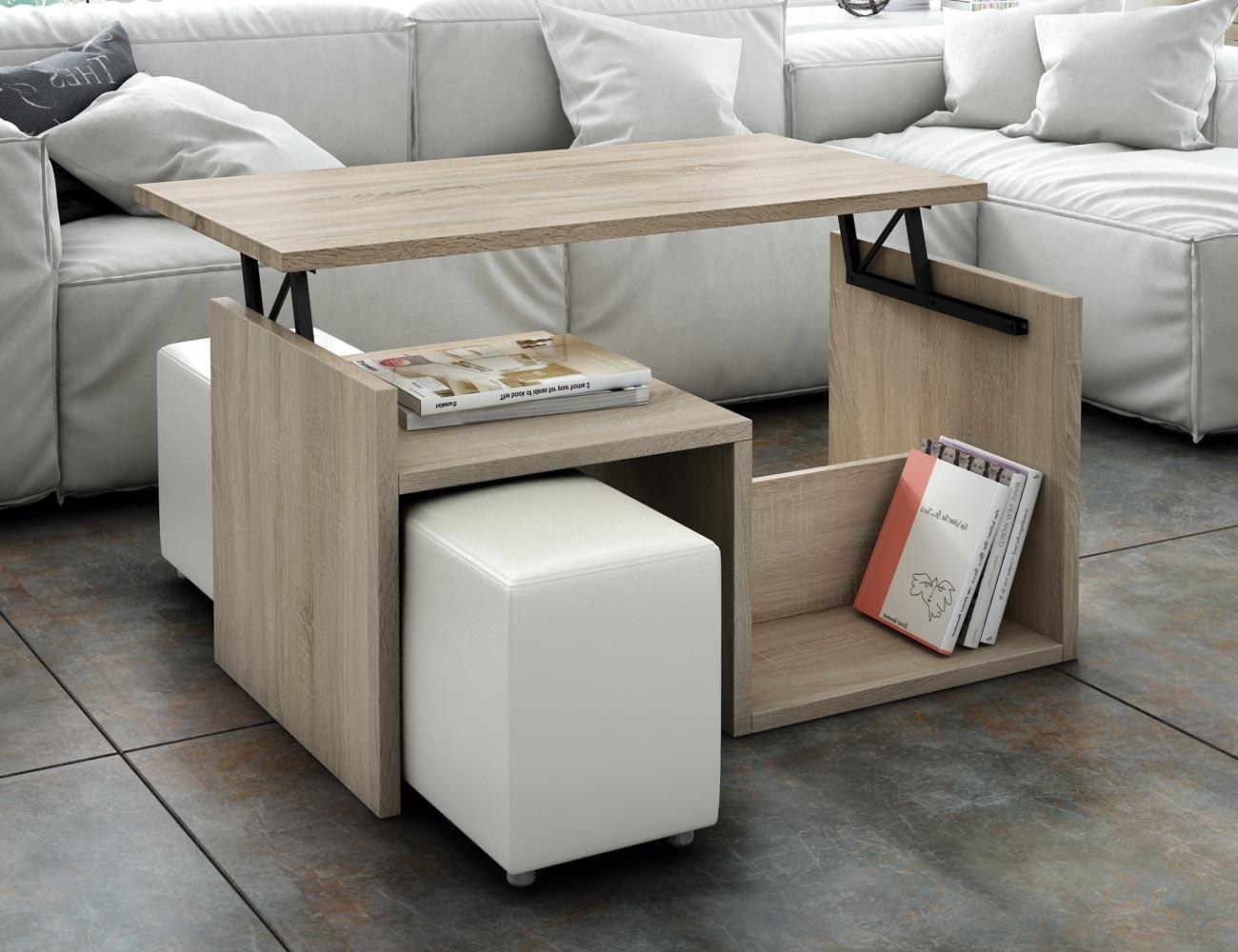 Mesa de centro elevable en cambrian factory del mueble - Muebles en utrera ...