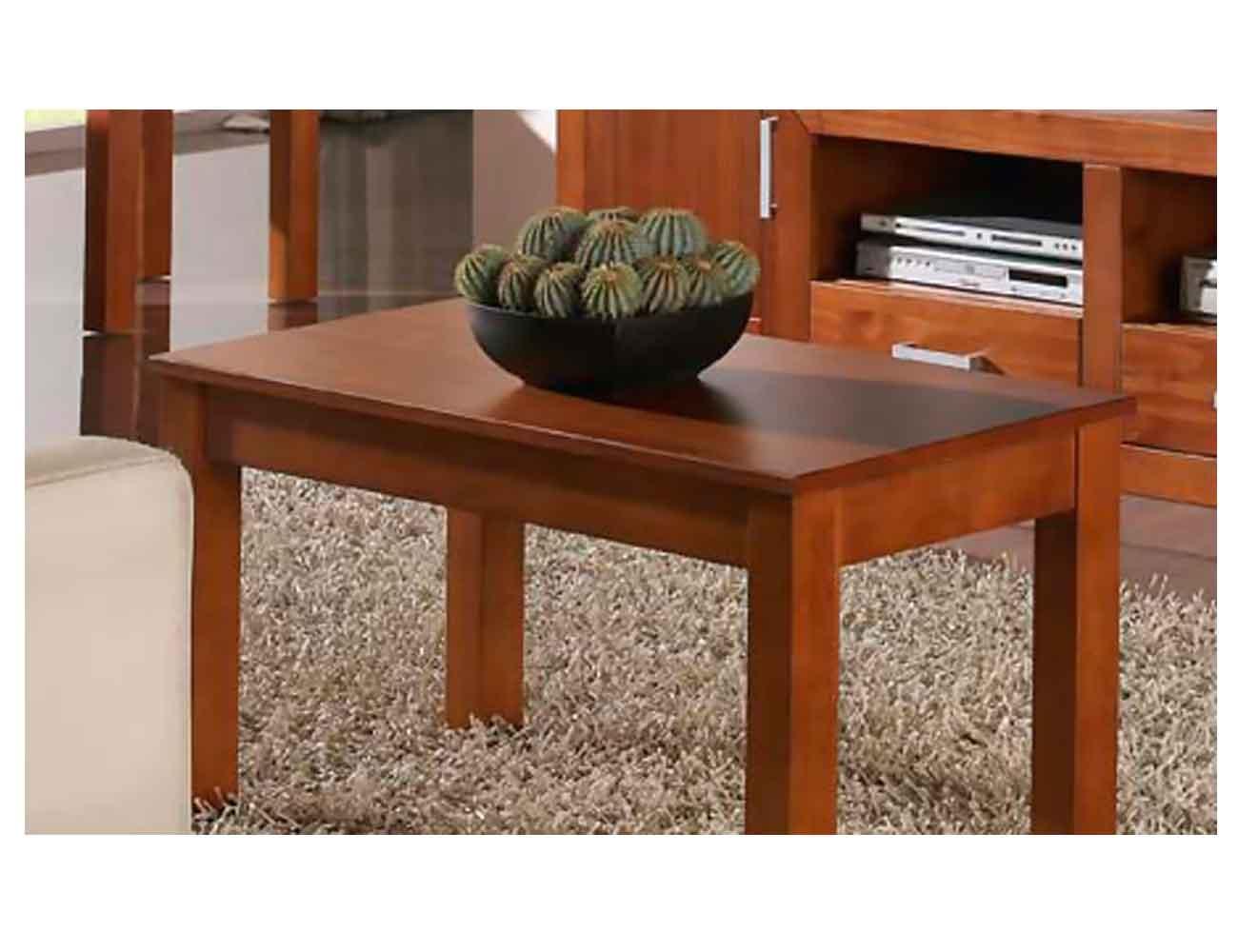 Mesa de centro elevable estilo neocl sico en color nogal for Factory del mueble azuaga