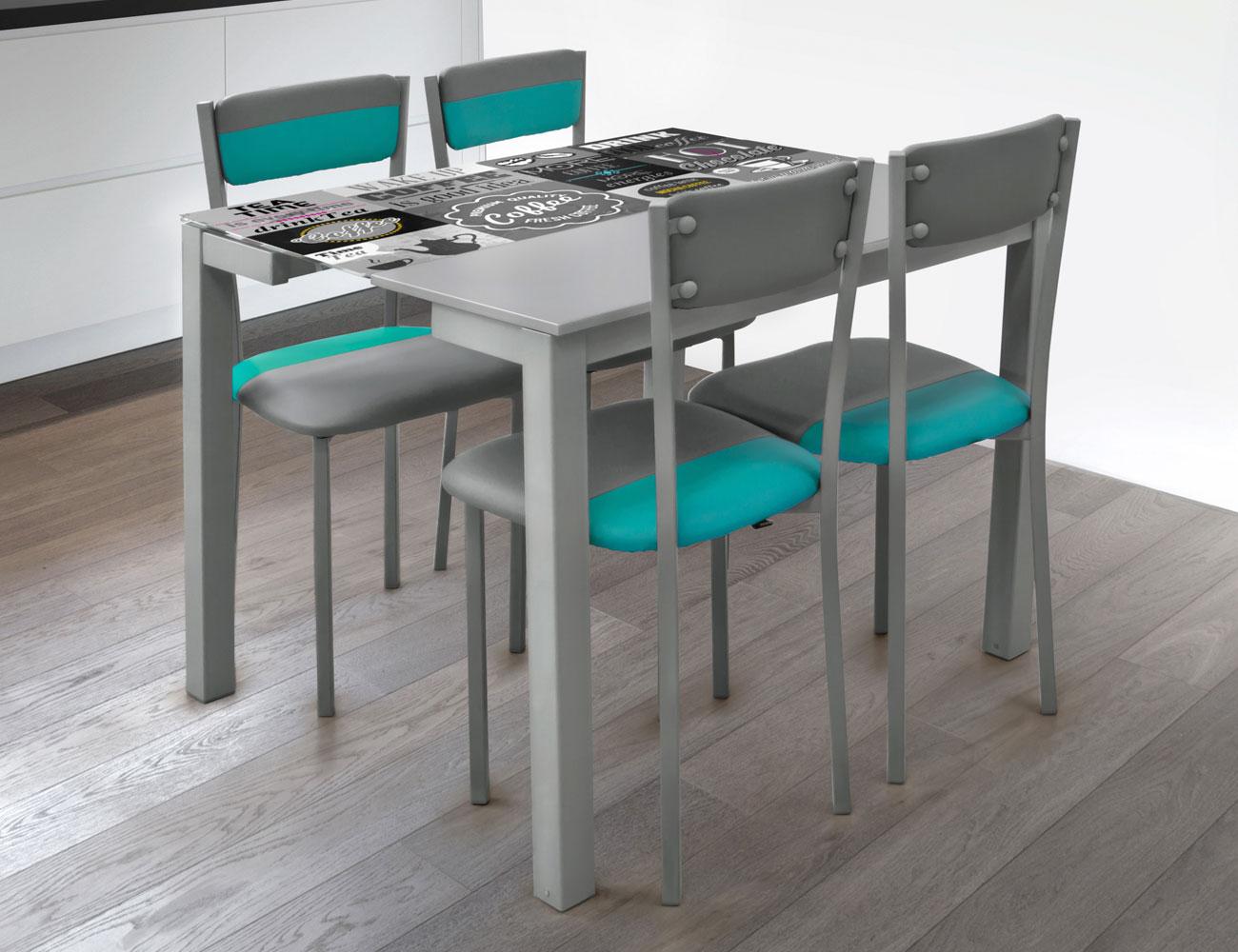 Mesa cocina extensible 225 tea