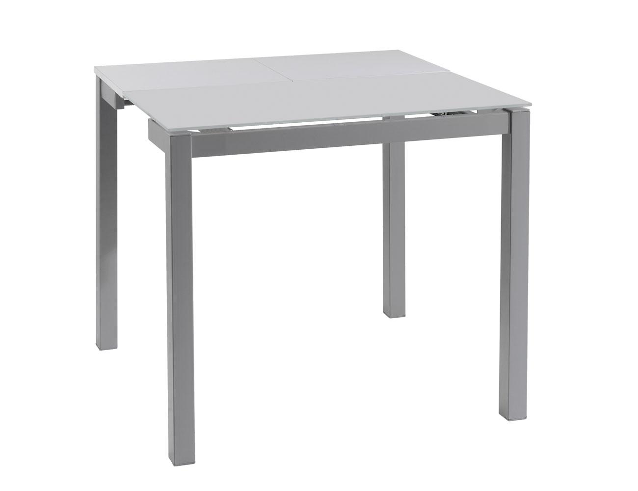 Mesa cocina extensible 225 translucida