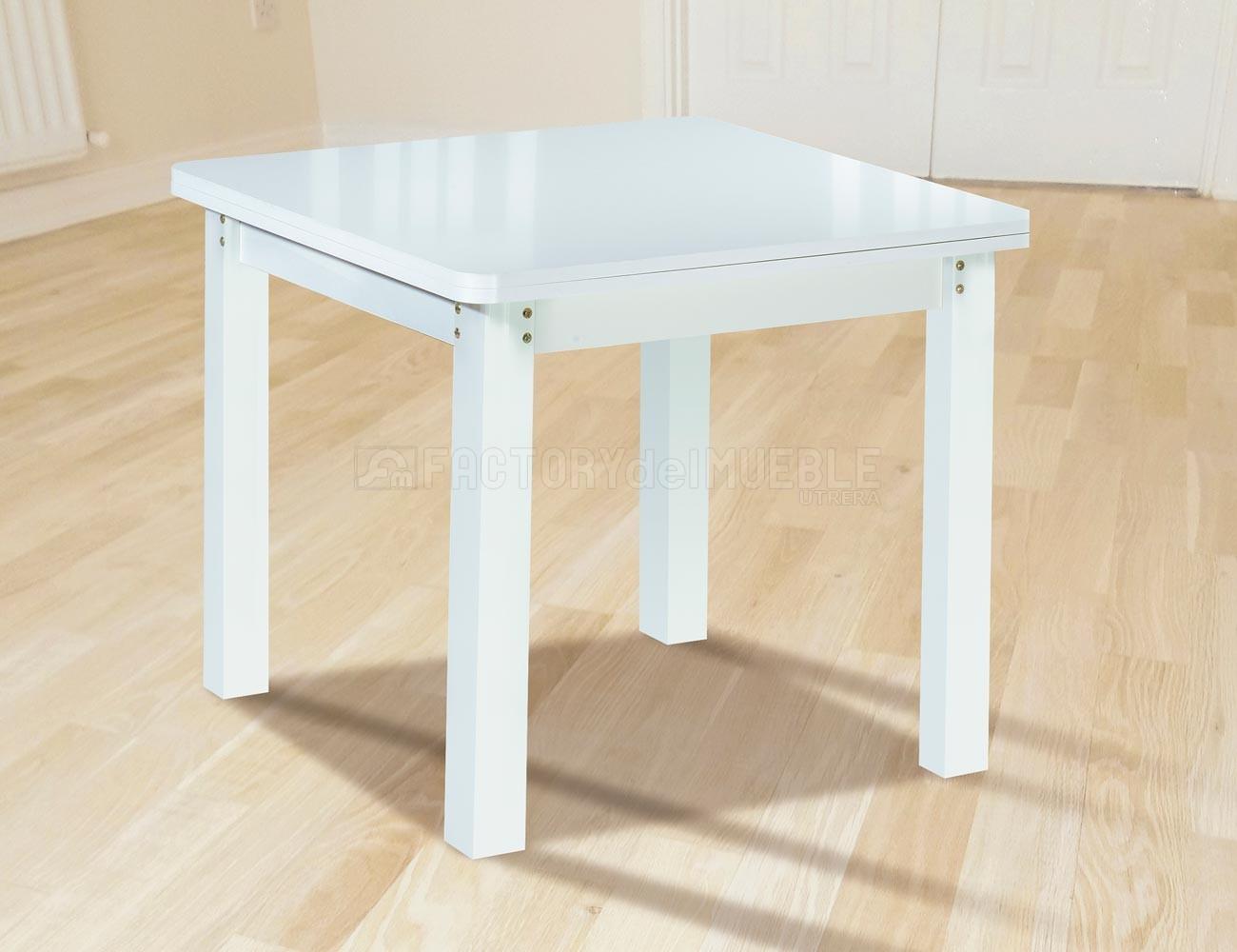 Mesa de comedor con apertura tipo libro (21827) | Factory del Mueble ...