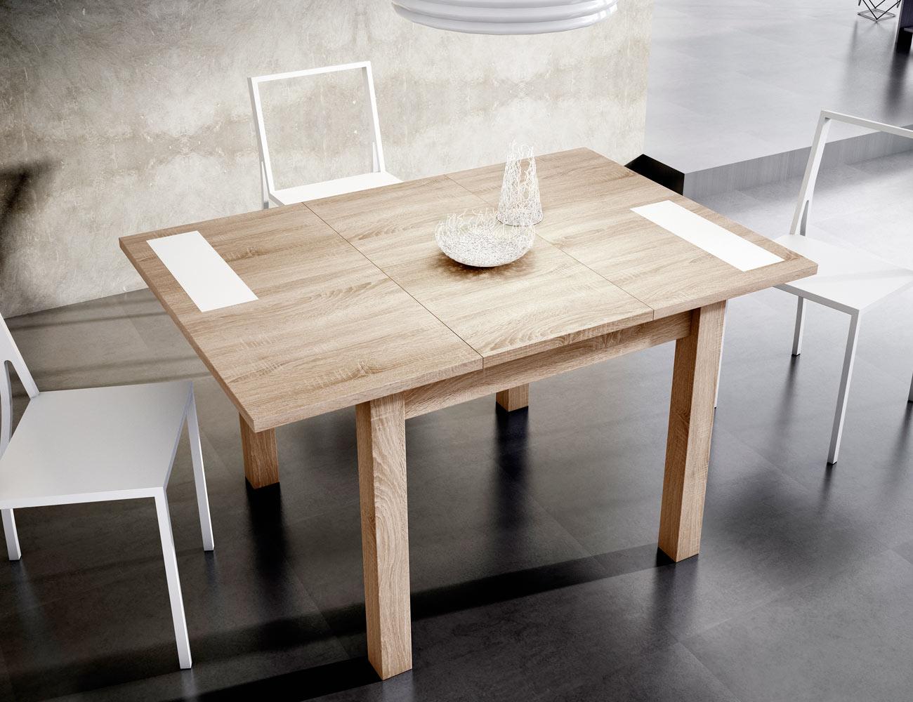 mesa comedor pequea extensible good mesa comedor redonda