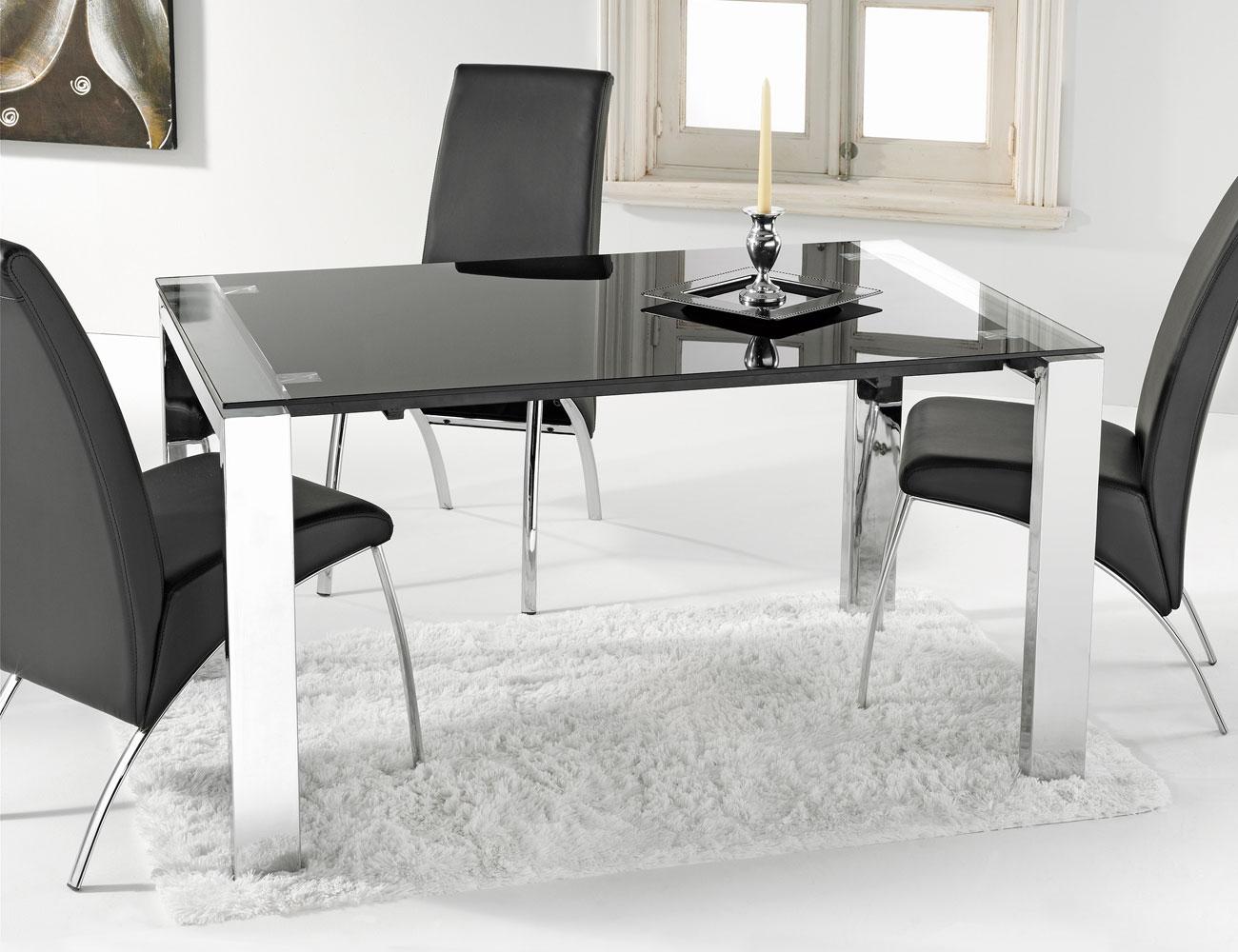 Hermoso mesa comedor extensible cristal im genes mesa for Cristal mesa
