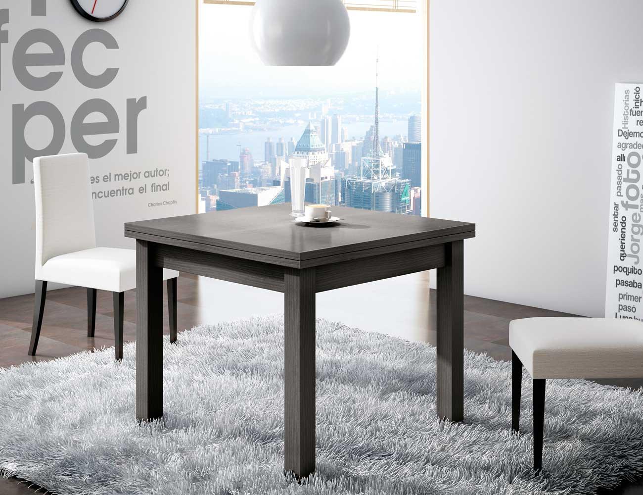 Mesa comedor tipo libro amazing mesa de cocina pequea - Mesa cocina plegable tipo libro ...