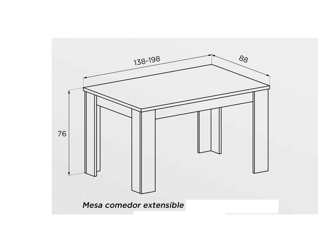 Mesa comedor extensible1