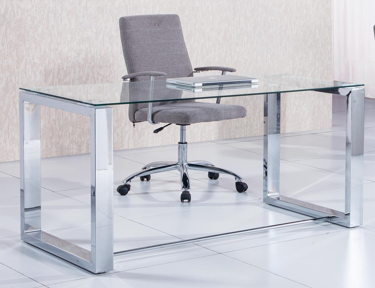 Mesa de oficina mesa de oficina operativa with mesa de for Mesa cristal oficina