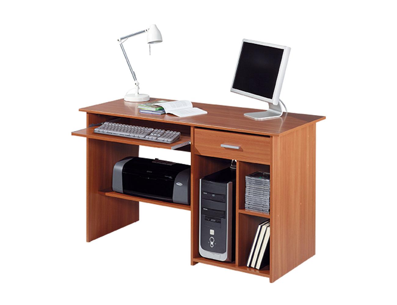 Mesa ordenador castano