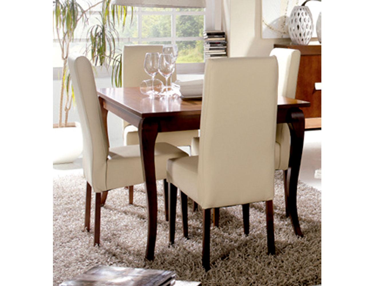 Mesa silla tapizada