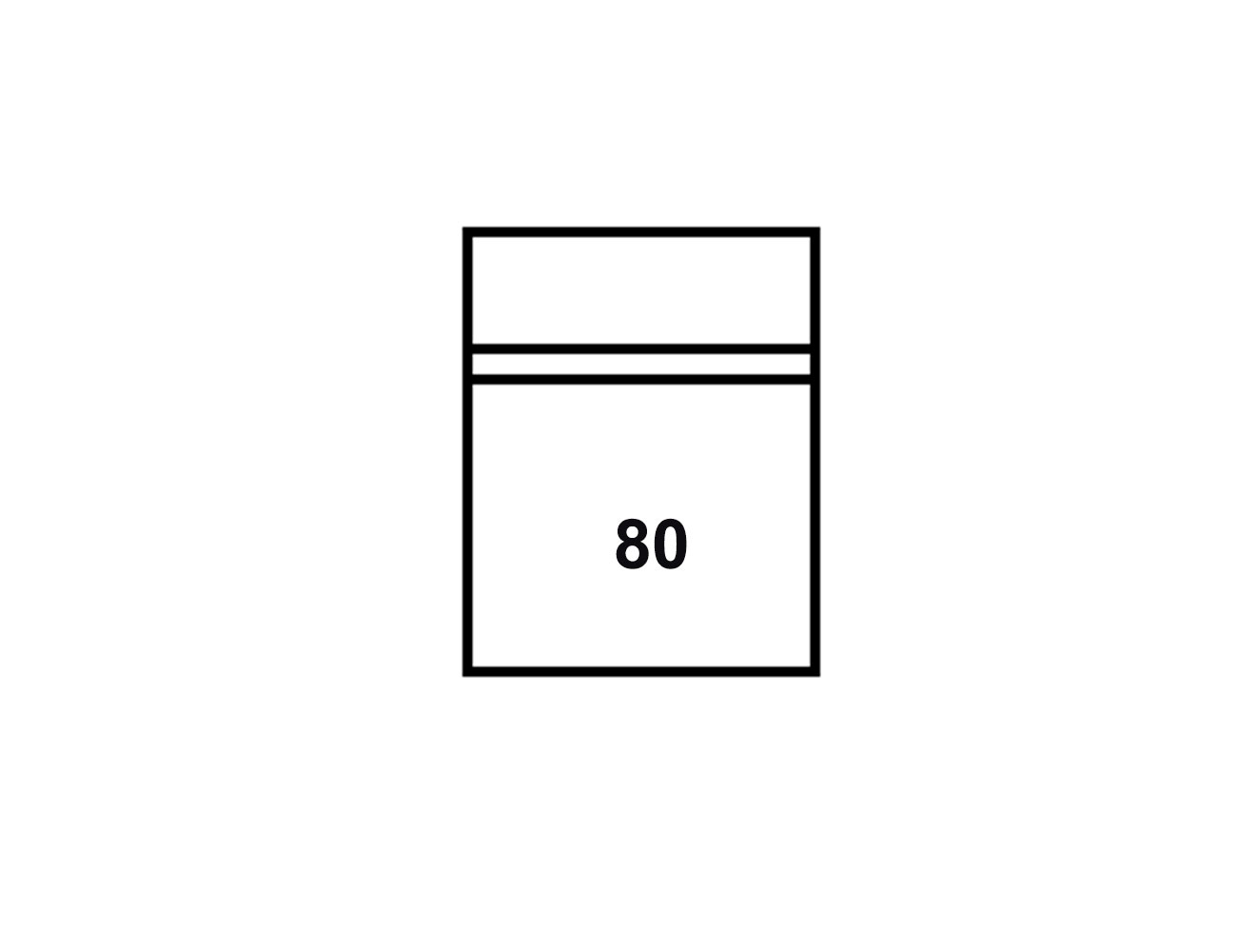 Modulo 1p 80