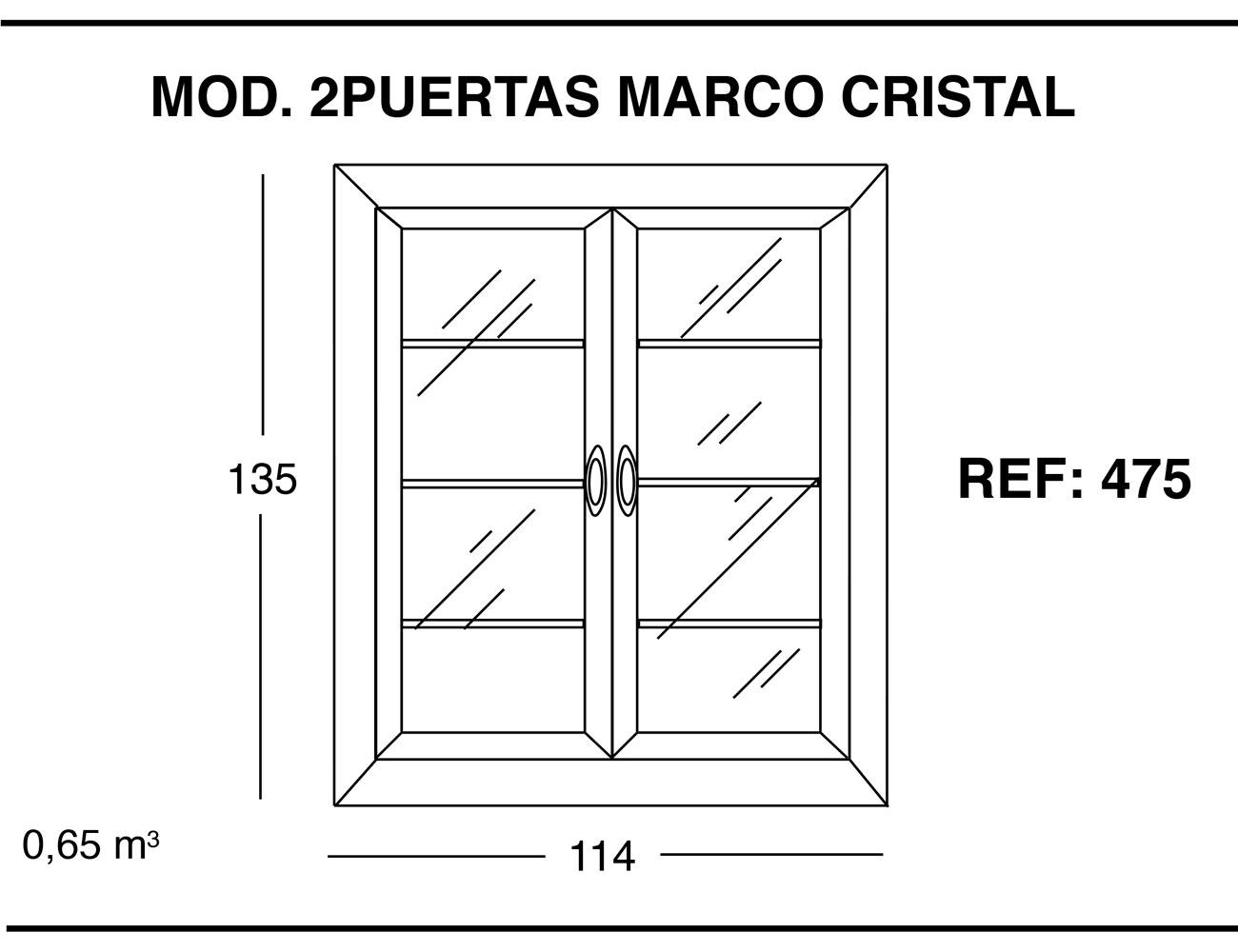 Modulo 2p marco cristal