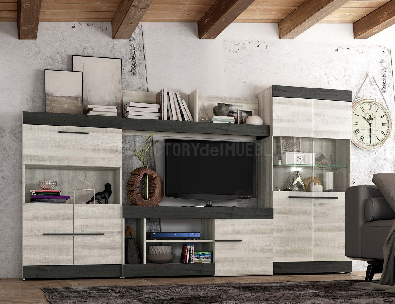 Mueble salon moderno 10
