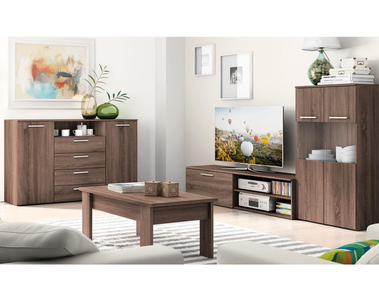 Mueble salon moderno britannia 403