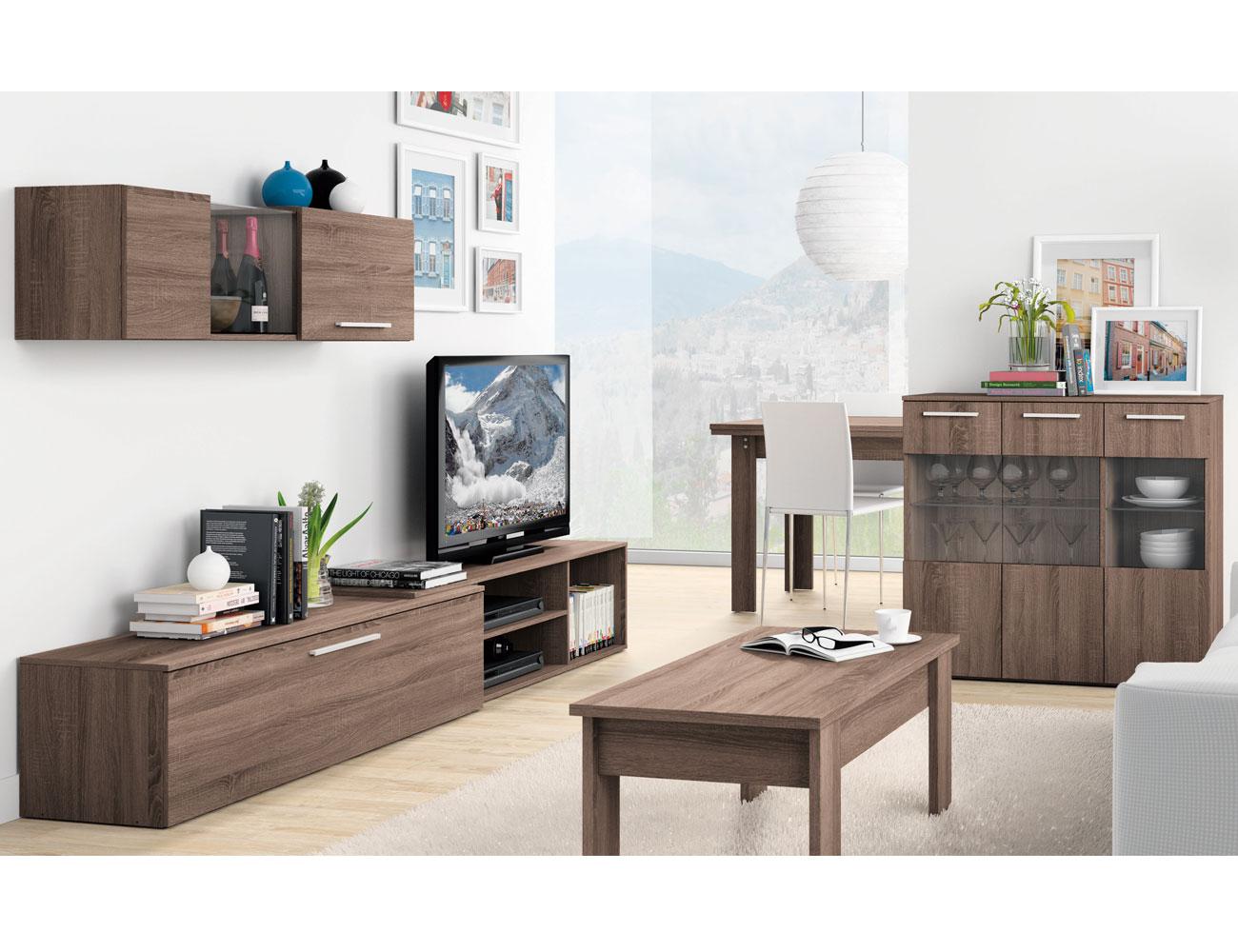 Mueble salon moderno britannia 406