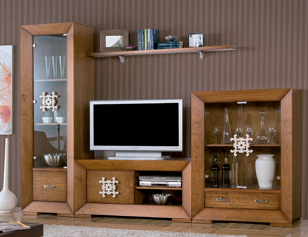 Mueble salon neoclasico color 152 tirador 63