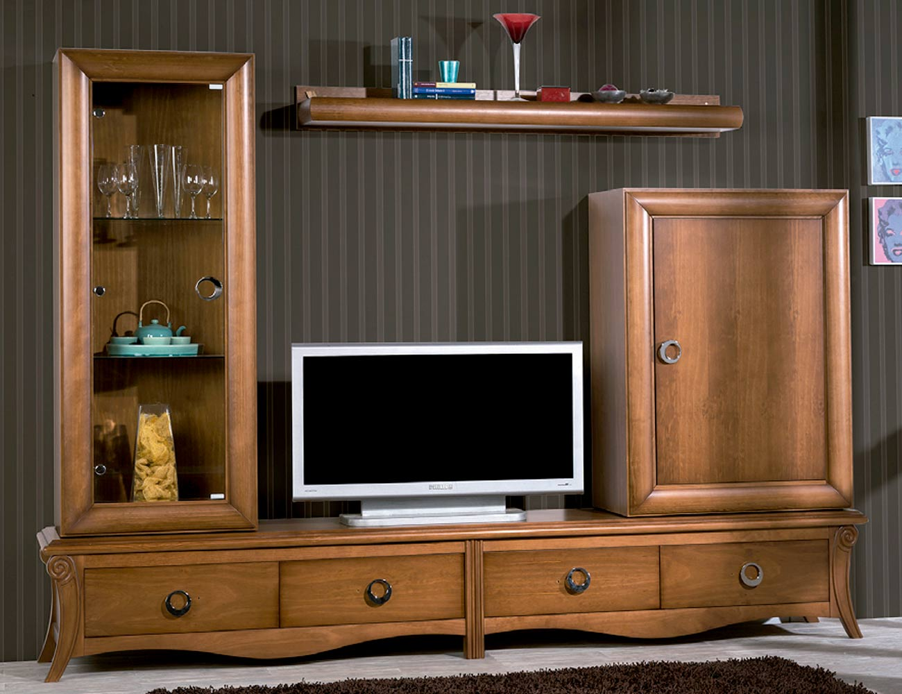 Mueble salon neoclasico color 152