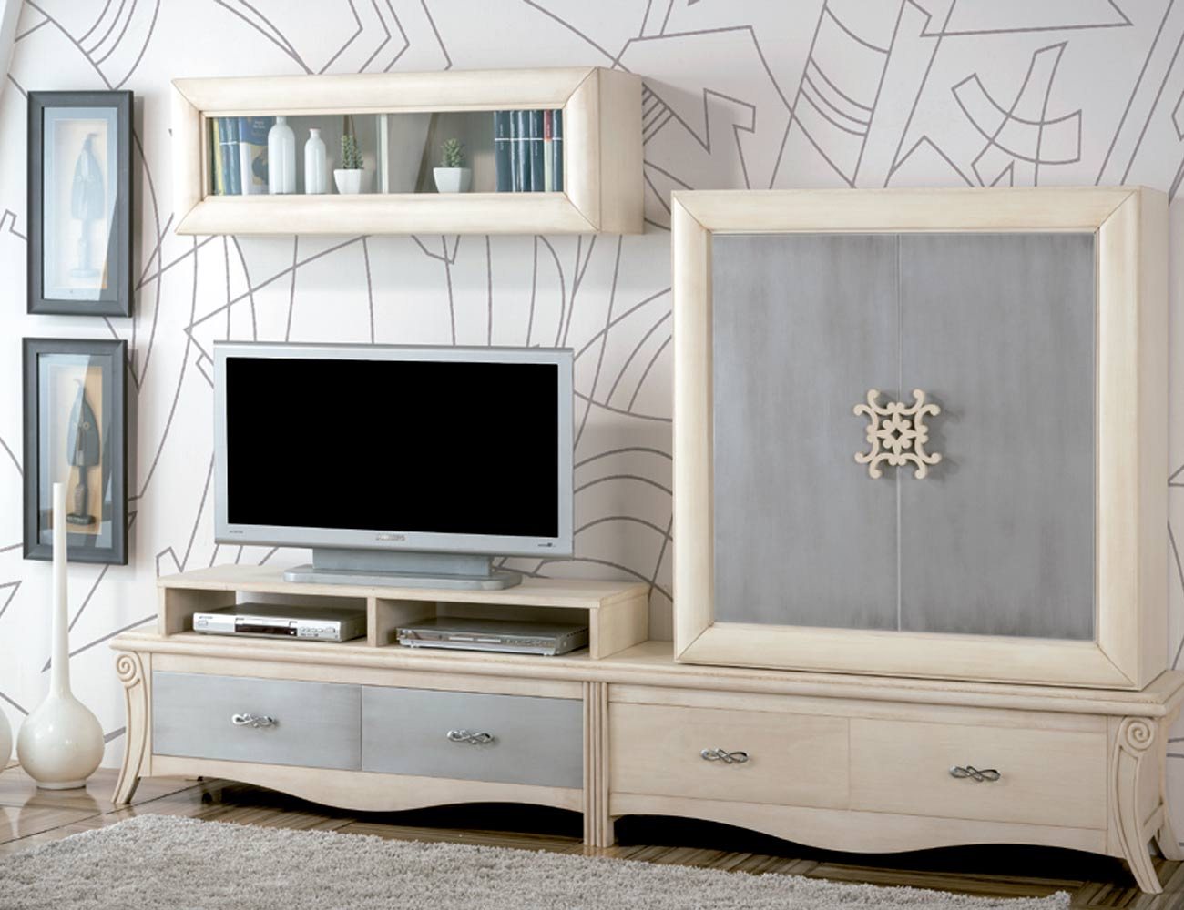 Mueble salon neoclasico color 500 5032