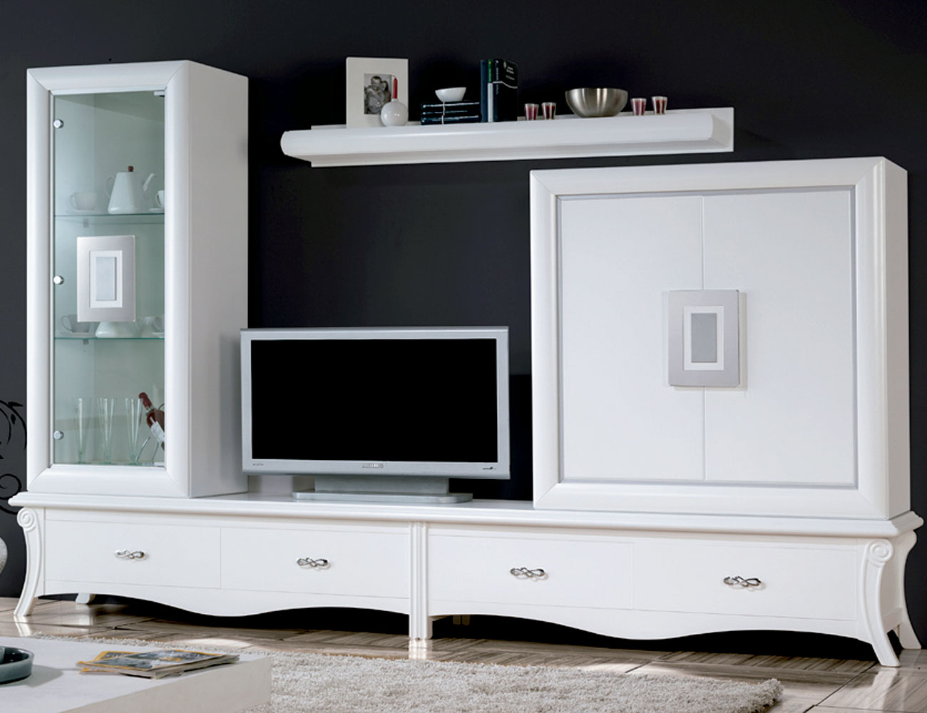Mueble salon neoclasico color 504
