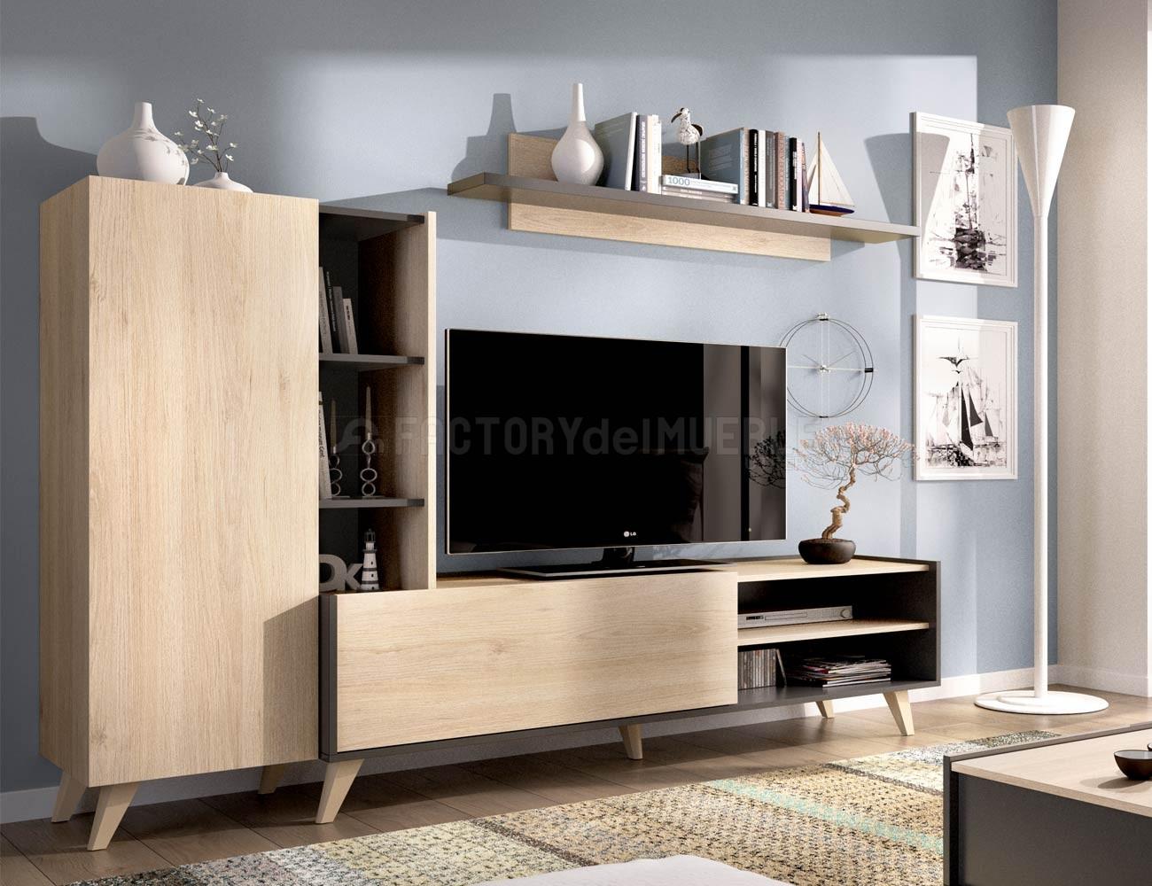Mueble salon nordico