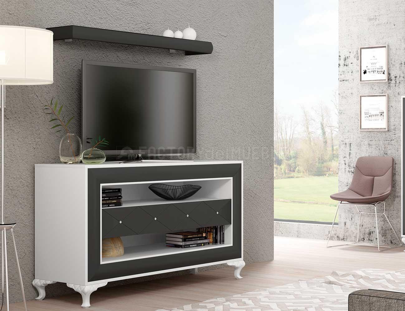 Mueble tv salon comedor romantico