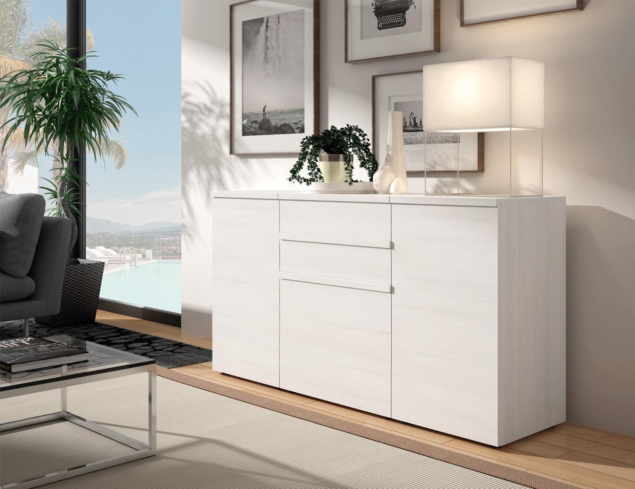 Mueble aparador color polar 9199 factory del mueble utrera - Muebles utrera ...
