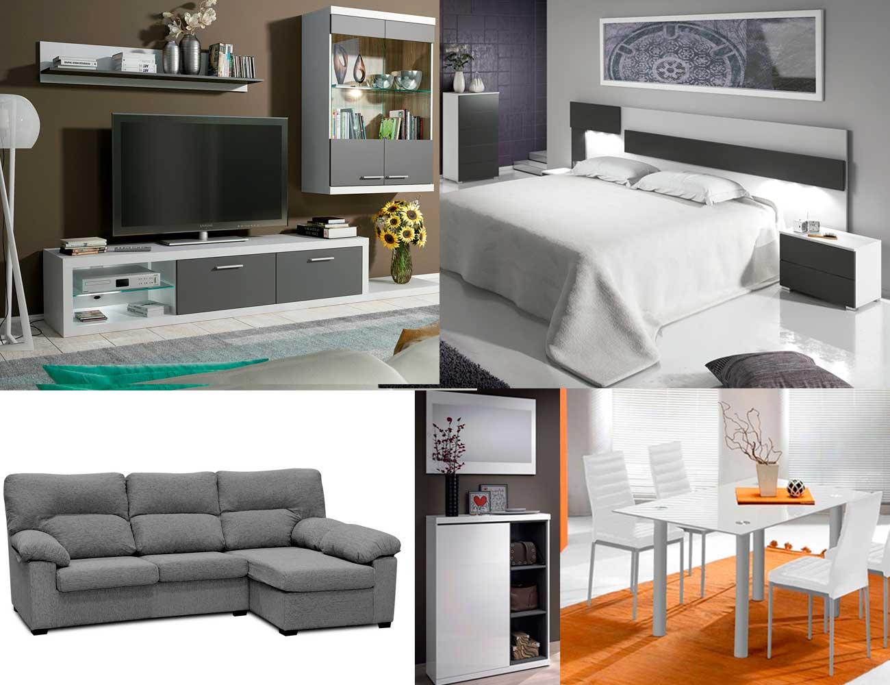 Piso completo ambiente 12 16315 factory del mueble utrera - Muebles piso completo barato ...