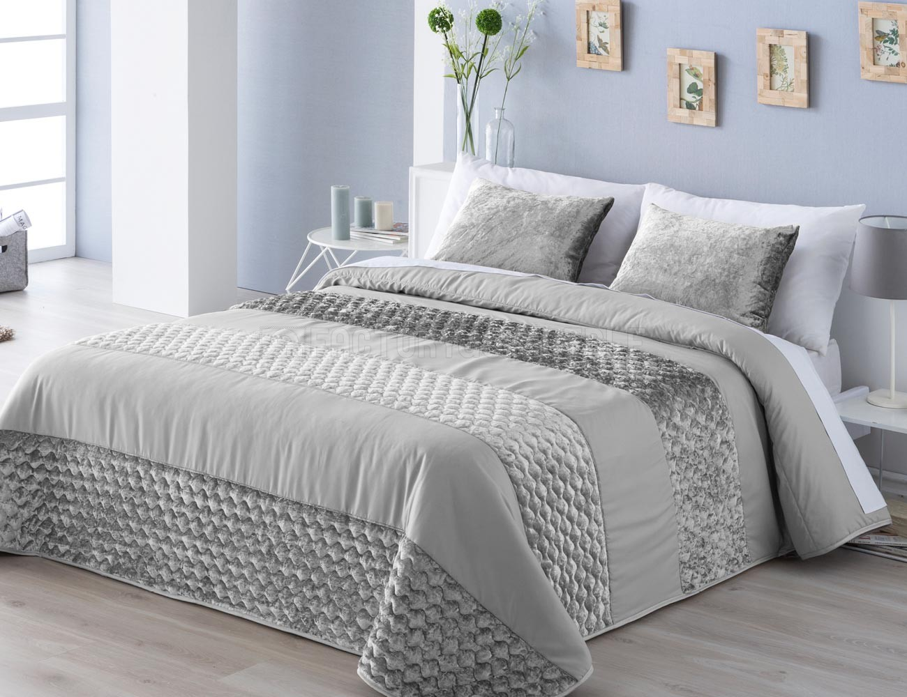 Ropa de cama adam gris