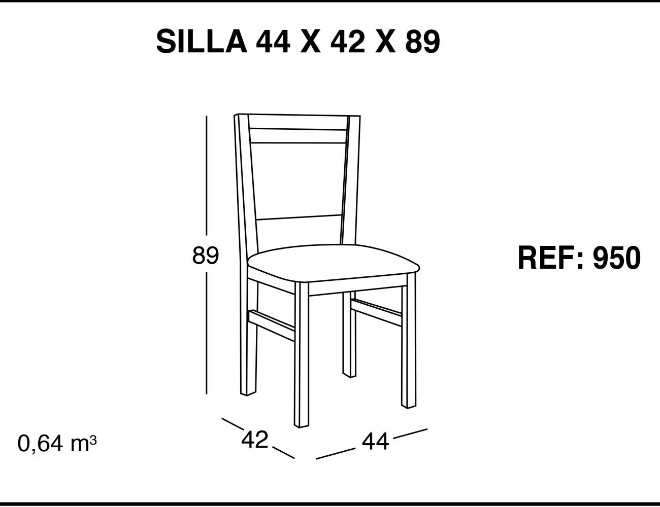 Silla 44 42 89